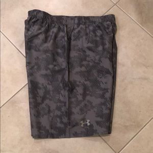 NWT Under Armour 9 inch inseam shorts with liner